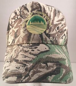 Outdoor Connection Camouflage Double Row Snapback Trucker Mesh Back Hat Mohr's