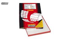 Etichette adesive Markin - 70x36 mm - Nr. etichette / foglio 24 - (conf. 100)