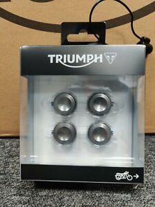 Genuine Triumph A9610276 - Head Bolt Covers Kit - Gunmetal