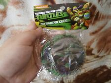 CLOSEOUT SALE! Imported From USA! Ninja Turtles 40 Pcs Baking Cups
