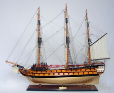 Hms Agamemnon Display Wooden Ship Model 37""
