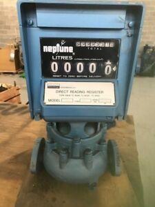 "Neptune 841 1""Flow Meter - Liters"