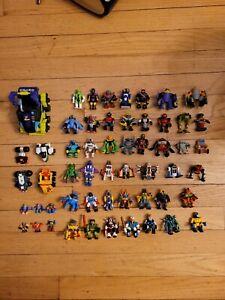 Z-Bots Micro Machines Action Figures Lot 50 LGTI 1994 sci-fi Mini Robots Zbots