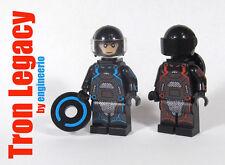 LEGO Custom Tron Legacy mini figures lot of 2 video game super heroes