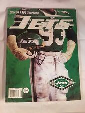 1993 NEW YORK JETS FOOTBALL YEARBOOK NR MINT