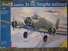 Maquette Avion REVELL 1/48 Ref 04521 Junkers Ju 52/3m g 4e military