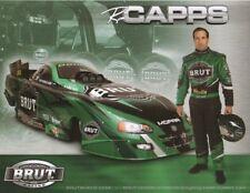 2005 Ron Capps Brut Dodge Charger Funny Car NHRA postcard