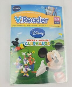 Vtech V.Reader Software Cartridge Mickey Mouse Clubhouse Disney