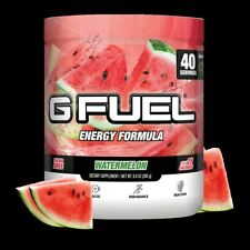 G Fuel Elite Energy and Endurance Powder Tub, Watermelon, 40 Servings
