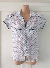 Collared Spotted Tops & Shirts NEXT for Women