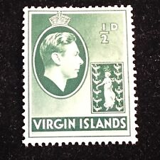 1938 Virgin Islands Postage Stamp, Unused