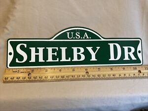 Green Street Room Sign Personalized  ~ USA  Shelby Dr ~ Stocking Stuffer ~