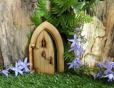 Twin Pack of Opening Country Cottage Fairy Door - Magical 3D Wooden Craft Kit
