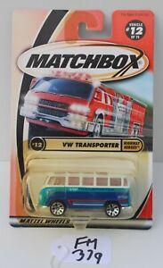 Matchbox Highway Heroes VW Transporter Damaged Blister #12 FNQHotwheels FM379