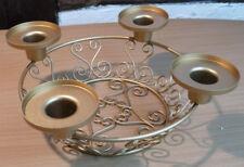 deko adventskr nze aus metall g nstig kaufen ebay. Black Bedroom Furniture Sets. Home Design Ideas