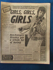 Elvis Presley - The Sun 23/5/1977 - 4 page pullout