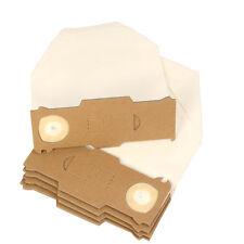 10 sacchetti per aspirapolvere adatto Vorwerk Folletto 130, 131 Bianco, filtro