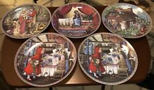 (5) Knowles Classic Fairy Tales Series Collector Plates 1988 (Rapunzel & More)