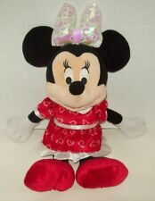 "16"" Disney Just Play Minnie Mouse Talking Plush Light Up Bow Easter Basket"