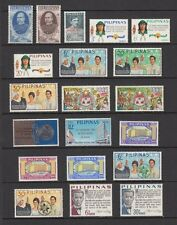 (RP66) PHILIPPINES - 1966 COMPLETE YEAR STAMP SETS. MUH