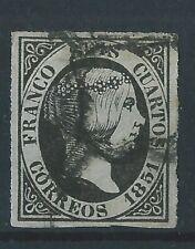 ESPAÑA 1851 ISABEL II EDIFIL 6