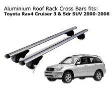 Aluminium Roof Rack Cross Bars fits Toyota RAV4 with existing rails 2000-2006