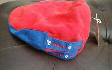 NWT Golf Driver cap Mens Flat Cabbie red/ blue osfa