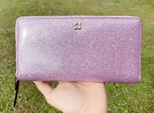 Kate Spade Mavis Street Neda Zip Around Wallet Rum Radom Purple