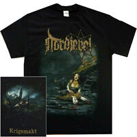 Nordjevel Krigmakt Shirt S-XXL Official T-Shirt Black Metal Band Tshirt New