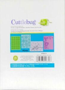 Cricut Cuttlebug  WINTER BUNDLE 4 embossing folders Tartan, Cardinal, Snowflakes