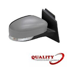 DOOR WING MIRROR HEATED ELECTRIC PRIMED INDICATOR RIGHT FORD FOCUS 2011-2014 NEW
