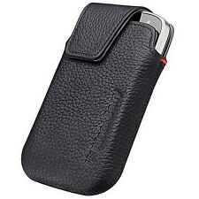 NEW OEM Blackberry BOLD 9930 HDW-38843-001 Vertical Leather Holster Pouch Clip