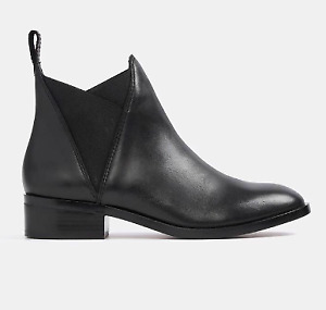 NEW ALDO Women's SCOTCH Bootie Boots Size 6.5 Black $120