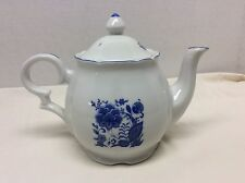 Blue Onion Teapot Made In Japan