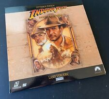 New listing Indiana Jones and the Last Crusade Laserdisc Letterbox
