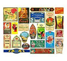 22 Pcs APOTHECARY LABEL Sticker Sheet, Antique Chemist Druggist Label Decor Set