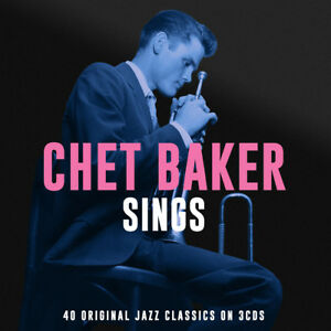 Chet Baker - Sings (40 Original Vocal Jazz Classics) 3CD 2012 NEW/SEALED
