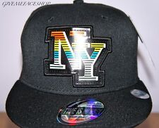 TIM NEON LIGHT NY FLAT PEAK CAP, BATTERY FITTED HAT, LIGHTS UP AS YOU DANCE,