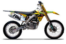 2010-2018 SUZUKI RMZ 250 Yoshimura  Factory Suzuki James Stewart Replica Graphic