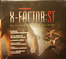 NEW  Weider X-FACTOR : ST  90Second Sequence Training