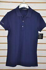 NWT Women's Ralph Lauren RLX Golf, TAILORED FIT MESH-PANEL POLO. Sz S. $89.5
