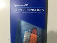 Spenco Gel Confort insoles Size 4 = (11-12) woman or (10-11 men) NEW
