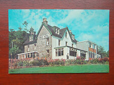 Onich Hotel, Fort William, Inverness-shire Scotland Vintage RP N.P.O. Postcard