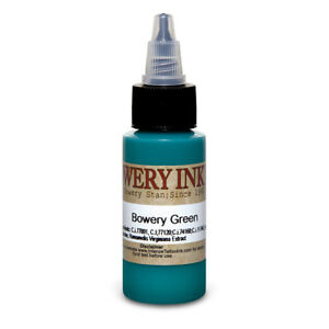Green - Bowery Artist Series - Intenze Tattoo Ink - Pick Your Size 1oz or 4oz