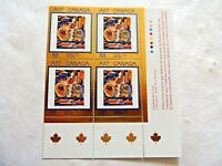 """""""Art Canada"""" 88 Plate Block Stamps"""