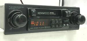 Kenwood KRC-3005 Classic Car Old Schoool AM/FM Cass. 2 Shaft Radio Car Stereo
