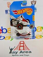 RARE 2017 Hot Wheels Turbo Rooster Street Beasts White 1/10 Best For Track