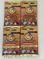 TY Beanie Babies Official Collectors Cards 1st Edition Series 1 Sealed Pack 1998