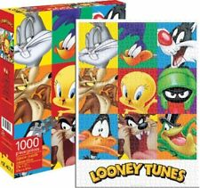 Looney Tunes Block of 9 Popular Characters 1000 Piece Jigsaw Puzzle, NEW SEALED