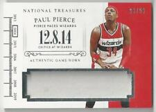2014-15 PANINI NATIONAL TREASURES TIMELINE PAUL PIERCE JERSEY 03/99!!
